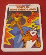Tony in Nintendo Land card