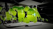 Green E.M.M.I. crawling