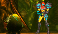 Metroid Samus Returns Metroid Egg (Stage 1) The Baby's Egg Hatching (Cutscene)