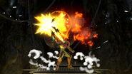 Samus Up Smash Attack SSBU