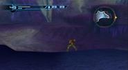 Vast ice cavern - underwater