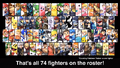SSBU full roster (at launch)