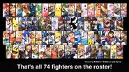 SSBU full roster (at launch)