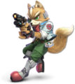 SSB Ultimate Fox render