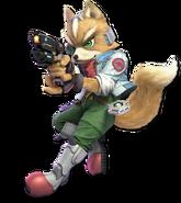 SSB Ultimate Fox render