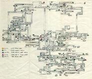 Super Metroid development map