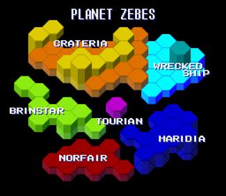 Zebes ImageMap