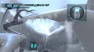 Kyratian corridor - ice spear falling