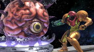 SSB Ultimate Samus vs Mother Brain