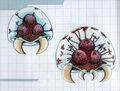 MSR Artbook Infant and Larva Metroid (M2)