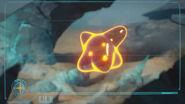 Parásito X en una pantalla de la FG md
