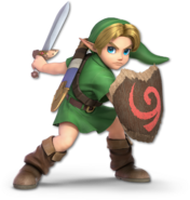 SSB Ultimate Young Link render