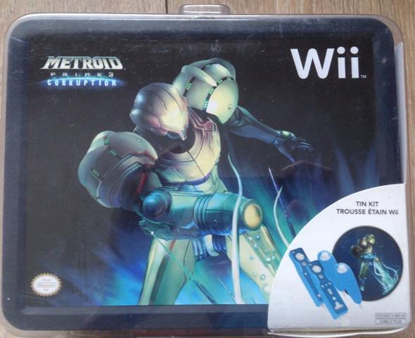 Kit de Lata de Metroid Prime 3: Corruption