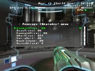 MP3 upgrades menu