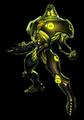 Brawl Sticker Kanden (Metroid Prime Hunters)