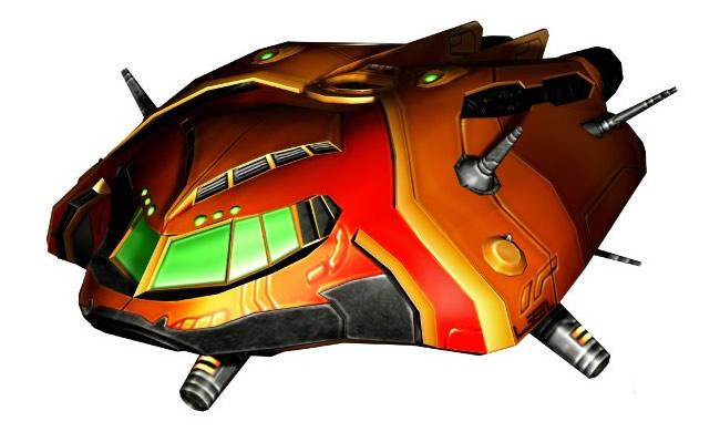 Hunter-class gunship