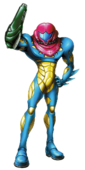 Metroid Fusion (Samus Aran Artwork 01)