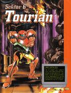 Guía Oficial de Nintendo del juego Tourian sm