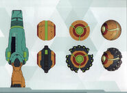 MSR Artbook Arm Cannon, Morph Ball and Spider Ball