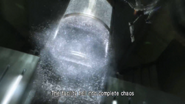 Ruined elevator shaft - glass breaks
