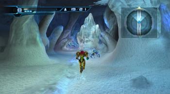 Ice mound