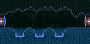 Water-filled hole possible appearance in Super Metroid