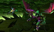 Metroid Samus Returns Proteus Ridley Rescue Baby - Samus Thrown Off (Transition Cutscene 1)