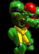 SSBM Green Samus