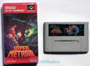 Nintendo Wii Real Figure Collection - Super Metroid