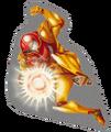 Brawl Sticker Samus (Metroid)