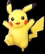 SSB Ultimate Pikachu render