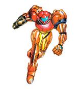 Samus Aran (Metroid II Return of Samus) Artwork 01