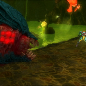 Samus Encounters Queen Metroid 02 MSR.png