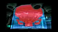 Robot Celador a punto de explotar