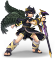 SSB Ultimate Dark Pit render
