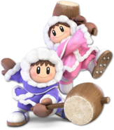 SSB Ultimate Ice Climbers render