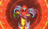 Diggernaut targets Samus