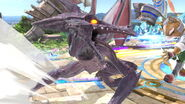 SSB Ultimate Ridley down special