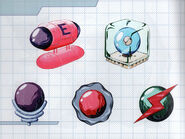MSR Artbook Energy Tank Bomb Spring Ball Spider Ball Screw Attack (M2)