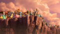 SSBU World of Light characters gazing at distance