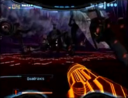 Quadraxis 2 Screen Glitch