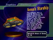 Samus's Starship