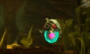 Metroid Samus Returns Metroid (Stage 4) Alpha Metroid - Freshly Molted (Cutscene)