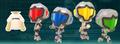 Miitomo Federation Force outfits