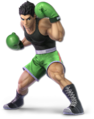 SSB Ultimate Little Mac render