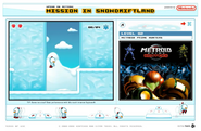 Mission in Snow Driftland Metroid Prime Hunters