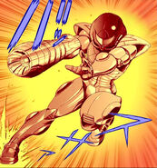 Power Suit in Metroid Web Manga ETC