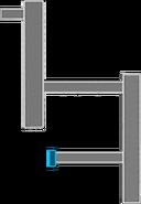 Karte Nebenbelüftungsschacht Abschnitt A