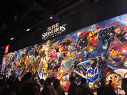 Super Smash Bros. Ultimate PAX banner