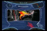 Tentáculo visto con el Visor de Rayos X